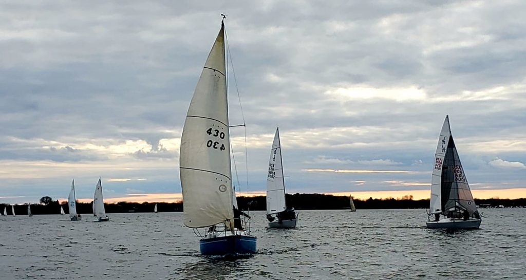 Sailing and Race Week on Lake Superior in Bayfield